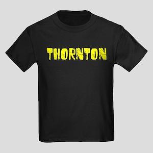 Thornton Faded (Gold) Kids Dark T-Shirt