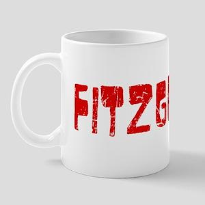 Fitzgerald Faded (Red) Mug