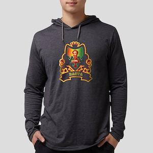 Selassie Rastafari Crest Long Sleeve T-Shirt