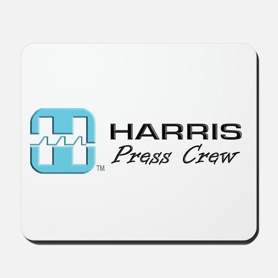 Mousepad-HARRIS PRESS CREW