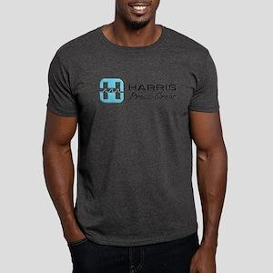 Dark T-Shirt-HARRIS PRESS CREW