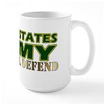 United States Army Large Mug