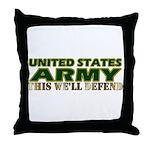 United States Army Throw Pillow