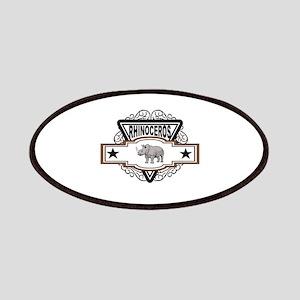 Rhinoceros badge Patch