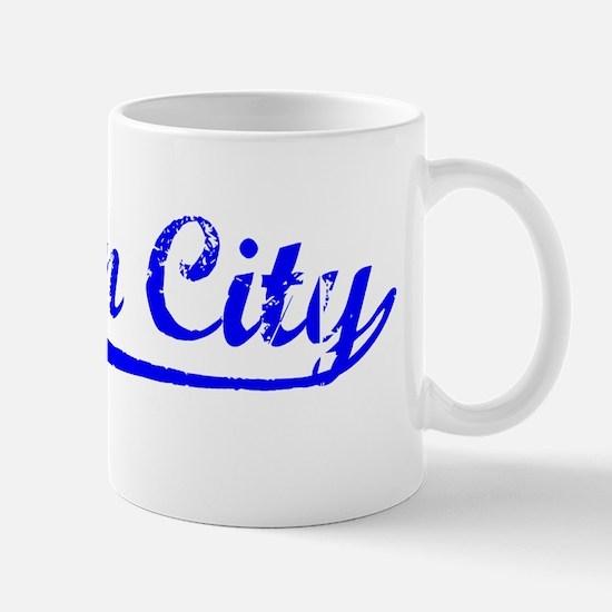 Vintage Suisun City (Blue) Mug