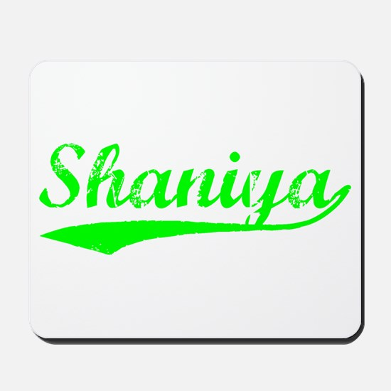 Vintage Shaniya (Green) Mousepad