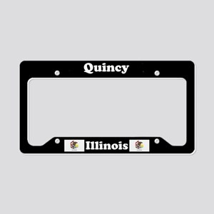 Quincy, IL License Plate Holder