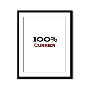100 Percent Currier Framed Panel Print