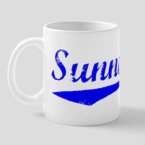 Vintage Sunnyvale (Blue) Mug