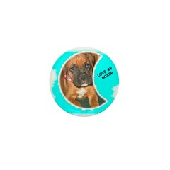 LOVE MY BOXER Mini Button (10 pack)