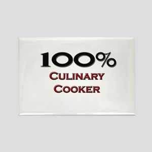 100 Percent Culinary Cooker Rectangle Magnet