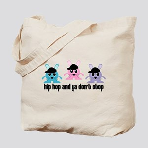 Hip Hop Bunnies Tote Bag