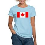 Canadian Flag Women's Light T-Shirt