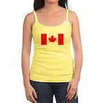 Canadian Flag Jr. Spaghetti Tank