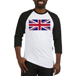 UK Flag Baseball Jersey