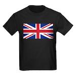 UK Flag Kids Dark T-Shirt