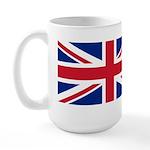 UK Flag Large Mug