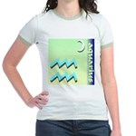 Aquarius Jr. Ringer T-Shirt