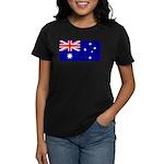 Aussie Flag Women's Dark T-Shirt