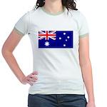 Aussie Flag Jr. Ringer T-Shirt