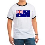 Aussie Flag Ringer T