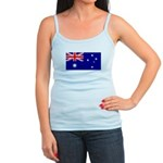 Aussie Flag Jr. Spaghetti Tank