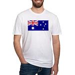 Aussie Flag Fitted T-Shirt