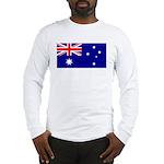 Aussie Flag Long Sleeve T-Shirt