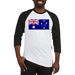 Aussie Flag Baseball Jersey