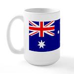 Aussie Flag Large Mug