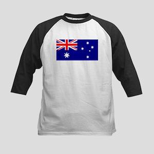 Aussie Flag Kids Baseball Jersey