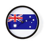 Aussie Flag Wall Clock