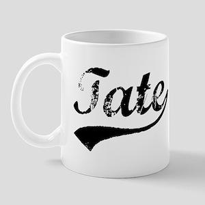 Vintage Tate (Black) Mug