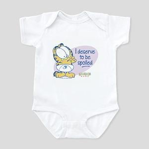 Spoiled Baby Garfield Infant Bodysuit