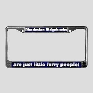 Furry Ppl Rhodesian Ridgeback License Plate Frame