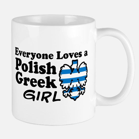 Polish Greek Girl Mug