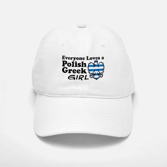 Polish Greek Girl Baseball Baseball Cap