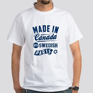 made in canada with swedish parts T-Shirt