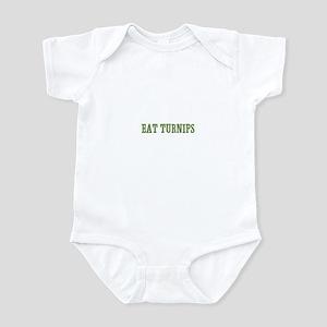 Eat Turnips Infant Bodysuit