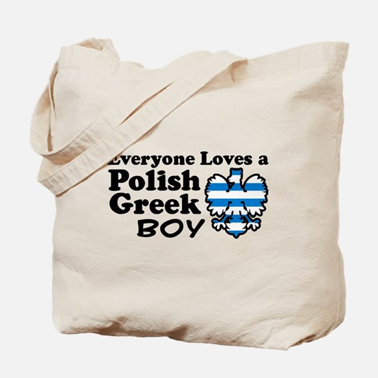 Polish Greek Boy Tote Bag