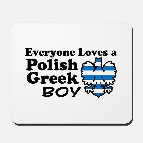 Polish Greek Boy Mousepad