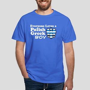Polish Greek Boy Dark T-Shirt