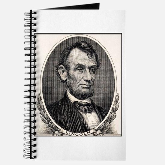 Abe Lincoln portrait Journal