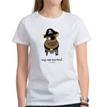 argh moo hearties! Women's T-Shirt