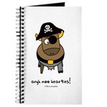 argh moo hearties! Journal