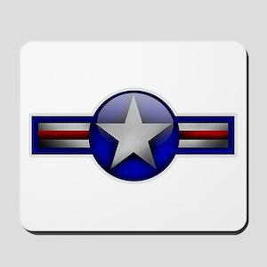 USAF Roundel Mousepad