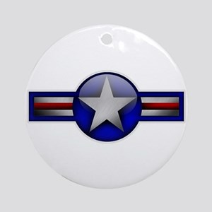 USAF Roundel Ornament (Round)