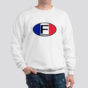 France Oval Colors Sweatshirt