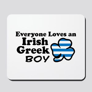 Irish Greek Boy Mousepad