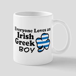 Irish Greek Boy Mug